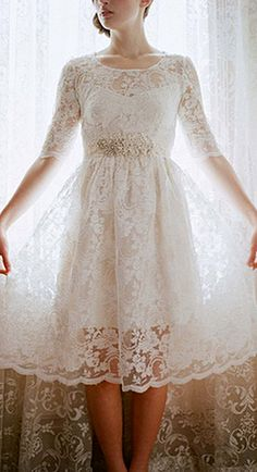tea length wedding dresses elizabeth messina photography