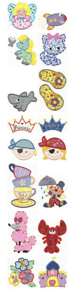 Embroidery | Free Machine Embroidery Designs | Jumbo Applique Sampler Set 2