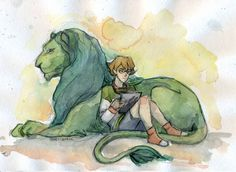 Pidge and her Green Lion from Voltron Legendary Defender