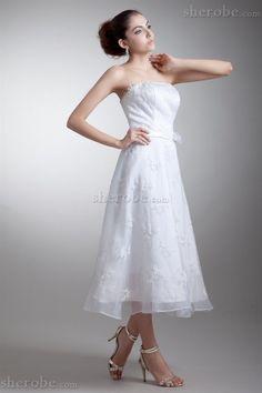 Spitze Prinzessin Ärmellos Reißverschluss Brautkleid mit Blume