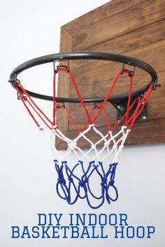 Glow In The Dark Basketball Hoop Net Luminous Shoot Training Sports Kid Gifts JG