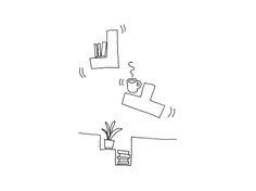 Sketch for Tetris // NENDO