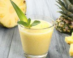 """Smoothie """"combustion des graisses"""" thé vert et ananas : Savoureuse et équilibrée   Fourchette & Bikini"""