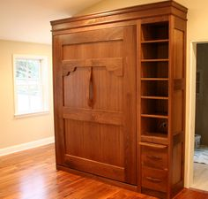 Walnut Murphy Bed