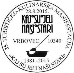 Kroatischer Sonderstempel 28. August 2015