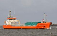 Thuishaven Delfzijl 2 maart 2015 te IJmuiden gespot vanaf de zuidpier,  ze was onderweg naar de Noorderkade te Beverwijk  http://koopvaardij.blogspot.nl/2015/03/thuishaven-delfzijl_2.html