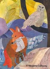 painting ideas forest and fox Animal Symbolism, Forest Friends, Arts Ed, Animal Totems, Snowy Owl, Sign Printing, Collage Art, Art Pieces, Fox