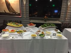 Salad Station looked delicious! #Salad #Fresh #Dinner #Stations #Wedding #Reception