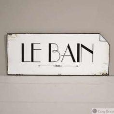 Plaque Le Bain Vin E Nouveaut S Boutique D Coration Cosydeco