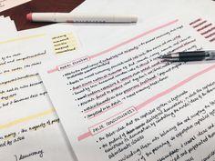 beautiful notes always make me wanna study