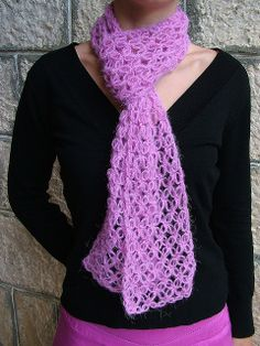 Teens crocheted for scarf patterns