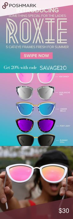 b27e15aa7bbbe Blenders Eyewear! ROXIE COLLECTION 20% off Blenders Eyewear did it yet  again! Introducing