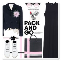 """""""Pack and Go: Paris Fashion Week"""" by paculi ❤ liked on Polyvore featuring Burberry, Marni, Tom Ford, Yves Saint Laurent, TIBI, parisfashionweek and Packandgo"""