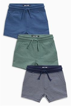 c5243559c6 Buy Stripe Shorts Three Pack (3mths-6yrs) from Next USA