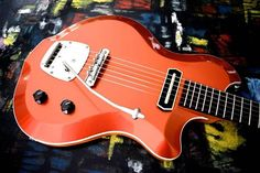 Rhoney Guitars beauty with our Charlie Christian pickup, Mastery Bridge and Mastery Vibrato!