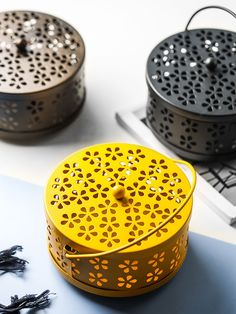 Evebe Perforated Metal Mosquito Repellent Coil Holder | YesStyle Perforated Metal, Gate, Portal