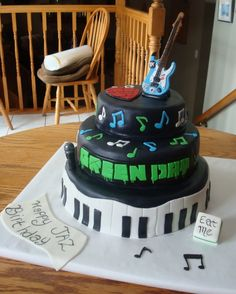 Green Day Cake. Why cant somebody do this for me? Hint Hint