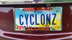 Coey Podraza '79 sent us this photo of her Ohio license plate. She says she has had the plate since she moved to Buckeye Country in 2005.