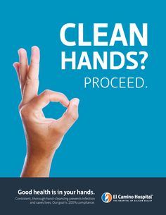 hand washing campaign on Behance