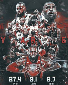 """""""Most people Retire, Lebron Devours""""! Baylor Basketball, Basketball Posters, Basketball Legends, Nba Lebron James, King Lebron James, Basketball Compression Pants, Nba Pictures, Nba Wallpapers, Nba Sports"""