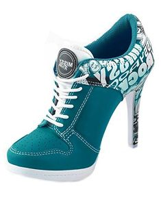 Sport High Heels STREET ROCKZ electric blue