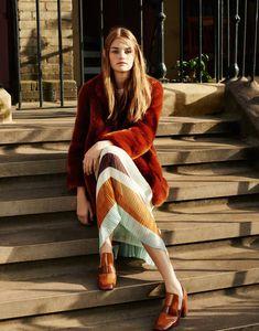 Zara TRF Fall/Winter 2015 #skirt #shoes