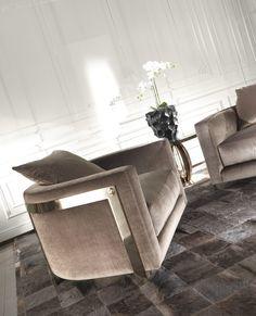 Roberto Cavalli Armchair #KingsofChelsea #FurnitureDesign #RobertoCavalliInteriors