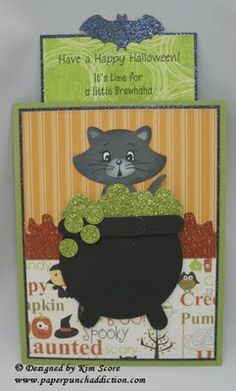kitty in the cauldron tutorial designed by Kim Score