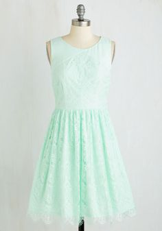 Roll in with the Punch Dress in Mint | Mod Retro Vintage Dresses | ModCloth.com