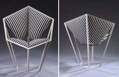 Clash Chair by by Rosie Li | Yellowtrace
