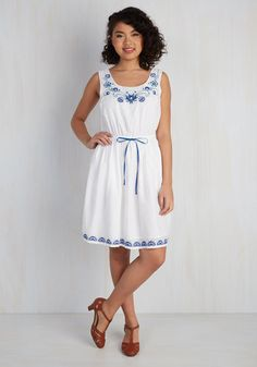 Made to Embroider Dress | Mod Retro Vintage Dresses | ModCloth.com