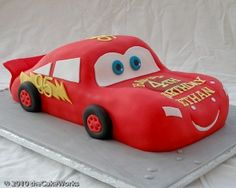 Asda Lightning Mcqueen Cake Birthday Cake Ideas For Toby