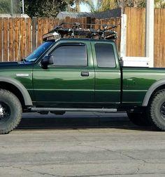 Check this out! This car is my dream whip. So fantastic Custom Ford Ranger, Ford Ranger Edge, Ford Ranger Truck, Ranger 4x4, Ford Edge, Ford 4x4, Lifted Ford, Ford Trucks, Pickup Trucks