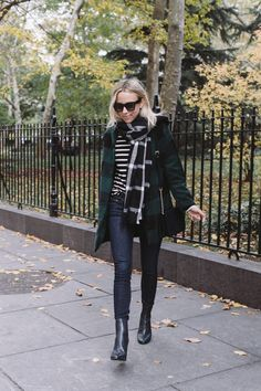Damsel in Dior | Check on Check on Stripe