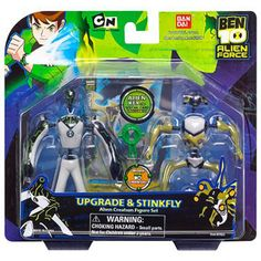 Ben 10 Alien Creation Chamber Figure Set Upgrade And Stinkfly 1999