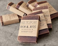 Items similar to Unscented Rustic Wedding Favors - Homemade Soap Favors, Bridal Shower Favors, Baby Shower Favors, Mini Soap Favors on Etsy Soap Wedding Favors, Homemade Wedding Favors, Rustic Wedding Favors, Bridal Shower Favors, Camp Wedding, Funny Wedding Gifts, Soap Shop, Cheap Favors, Home Made Soap