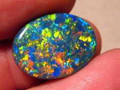Large 11.40ct Australian Black Opal Lightning Ridge Gem Harlequin Pattern.  Large Black Opal ready to set. This Solid Black Opal from Lightning Ridge, Australiais 100% Naturaland not a doublet or a triplet. A True Collectors Piece. A very rare stone.   in Jewelry & Watches, Loose Diamonds & Gemstones, Loose Gemstones | eBay