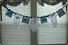 party decor for a BOY baby shower