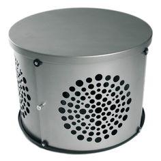 Bowhaus Designer Dog Crate- Silver