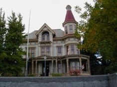 Clatsop County Historical Society: Flavel House Museum, built in 1886 complete with Mrs Flavel's 1851 piano. Astoria, Oregon