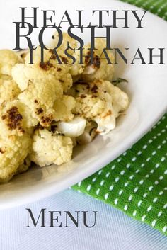 A Healthy Rosh Hashanah Menu Don't sacrifice tradition or flavor with this special menu for your Rosh Hashanah dinner that will help you kick of the year on the right health foot. Rosh Hashanah Traditions, Rosh Hashanah Menu, Kosher Recipes, Honey Recipes, Challah, Jewish Recipes, Syrian Recipes, Israeli Food, Side Dish Recipes