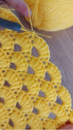 Baby Afghan Crochet Patterns, Crochet Square Patterns, Crochet Designs, Knitting Patterns, Crochet Cardigan Pattern, Blanket Crochet, Crochet Stitches For Beginners, Crochet Basics, Loom Knitting For Beginners