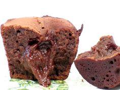 Chokolade fondant - Varme muffins med chokoladecreme i midten