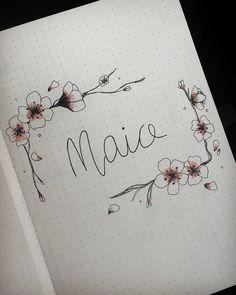 May Bullet Journal . . . #maybujo #maybulletjournal #mayplanning #bujo #bujoinspiration #bulletjournaladdict #bulletjournal…