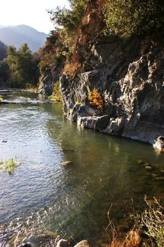San Gabriel River, Angeles National Forest, Los Angeles, California