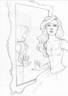 The Dreamer by hil-a-ree Sketch / Drawing Illustration Inspiration - Spiegel Cool Art Drawings, Pencil Art Drawings, Art Drawings Sketches, Sketch Drawing, Sketching, Character Design Cartoon, Character Art, Art Reference Poses, Drawing Reference