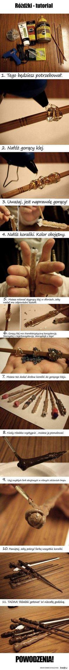 Funny pictures about How to make your own Harry Potter wand. Oh, and cool pics about How to make your own Harry Potter wand. Also, How to make your own Harry Potter wand. Harry Potter Diy, Classe Harry Potter, Theme Harry Potter, Harry Potter Style, Harry Potter Birthday, Fun Crafts, Crafts For Kids, Diy And Crafts, Baguettes Harry Potter