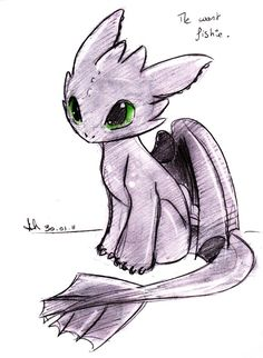 Baby Toothless by IICRAZYMOFOII.deviantart.com on @DeviantArt