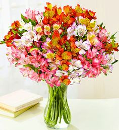 Peruvian lilies! One of my favorite flowers!!!