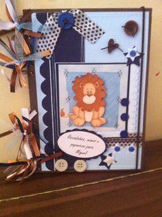 Livro de recordações para bebê...